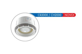 Luminária LED CR2000/CH2000 Industrial, Pública, Estacionamentos